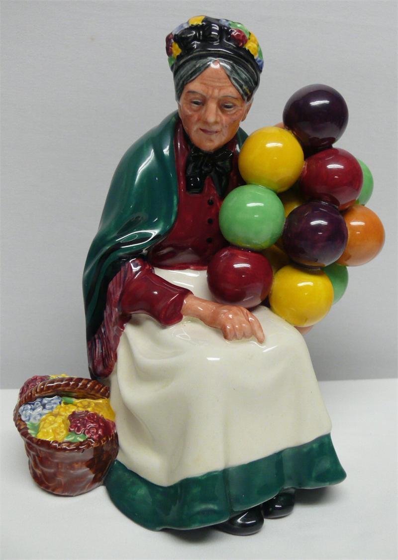 Royal Doulton Figurine - The Old Balloon Seller HN1315
